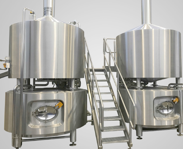 CFT First Brew Brewhouse